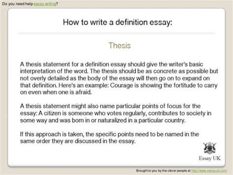 The Definition Of A Hero Definition Essay  Documentsdiligentlytk Define A Hero Essay  Thesis Statement Examples For Essays also The Thesis Statement Of An Essay Must Be  Friendship Essay In English